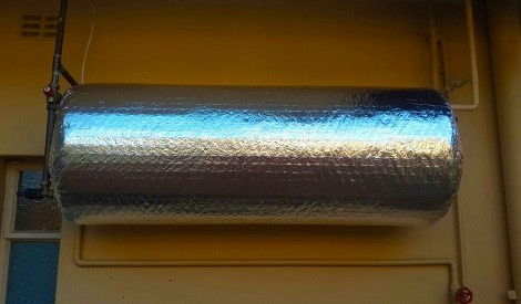 geyser blanket insulation